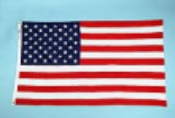5'x8' Nyl-Glo US Flag, Outdoor
