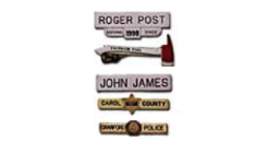Nameplates and Tie Bars