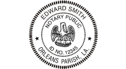 LA Notary Seals
