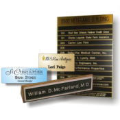 Nametags & Nameplates